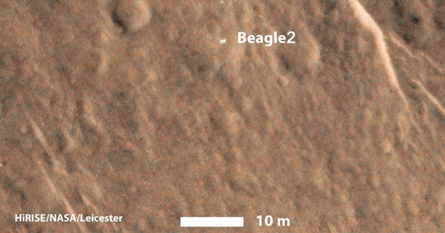 Missing lander Beagle-2 finally located on Mars, agency says