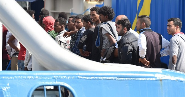 Migrants crossing Mediterranean exceed 100,000 this year
