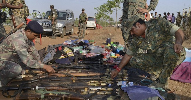 Indian police kill 12 Maoist rebels in eastern stronghold