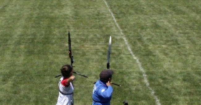 Bison, flatlands greet world's best young archers