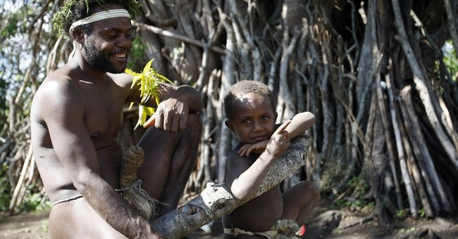 Vanuatu villagers wait for eternal life _ from Prince Philip