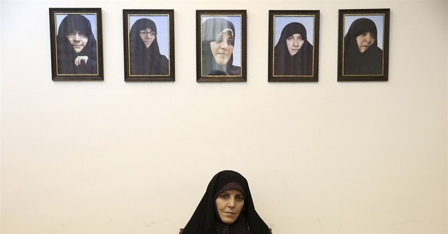 AP Interview: Iran partially opens stadium doors to women