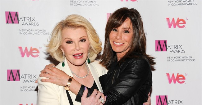 Melissa Rivers is funny and affectionate in 'Book of Joan'