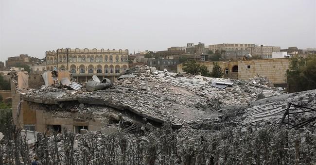Airstrikes target Yemen's rebel-held Defense Ministry