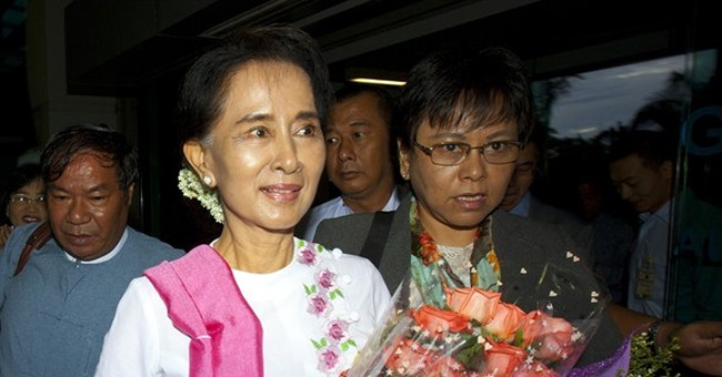 Top leaders to host Suu Kyi on her 1st visit to China