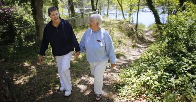 Female same-sex nuptials far outnumber male in Massachusetts