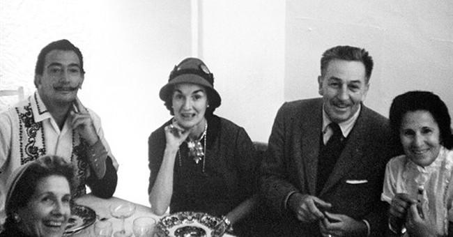 Walt Disney's wild ride with surrealist Salvador Dali