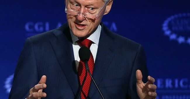Bill Clinton defends family foundation