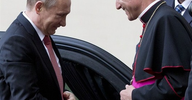 Pope tells Putin: 'Sincere' peace efforts needed for Ukraine