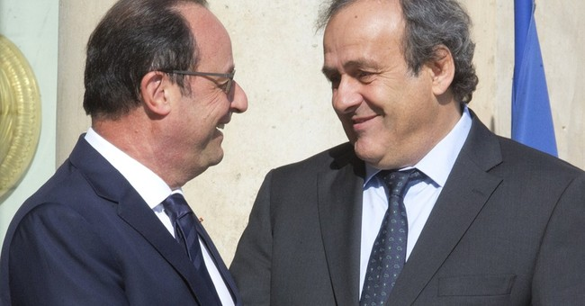 Platini declines to say if he will seek FIFA presidency