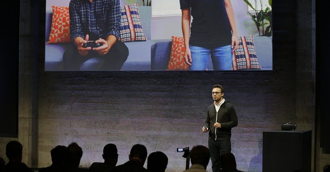 Oculus' virtual-reality headset to simulate touch, gestures