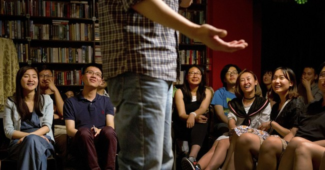 China's emerging stand-up comedy scene draws young people