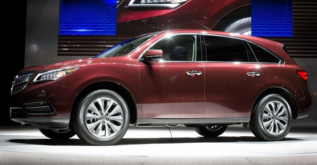 Acura recall shows glitch in automatic braking system