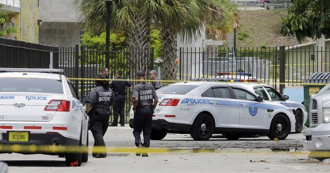 Miami officer fatally shoots man with a metal pipe in park