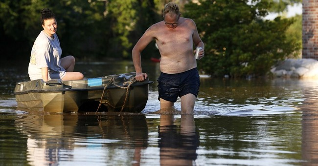 Louisiana flooding: 'Dirty red water was too much for some'