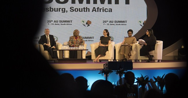 S. Africa: Actress Angelina Jolie joins African Union summit