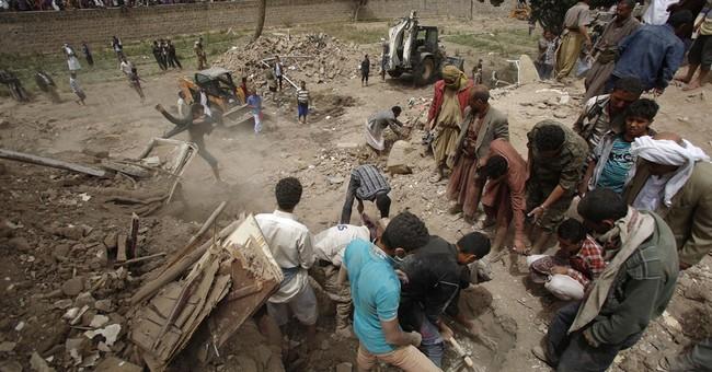 Airstrikes destroy part of Yemen's UNESCO heritage site