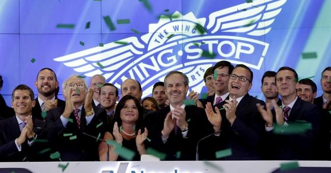 Wingstop soars after market debut
