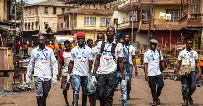 Sierra Leone leader imposes curfew in bid to halt Ebola