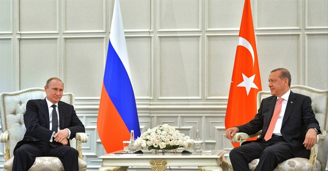 Putin, Erdogan meet, discuss gas pipeline