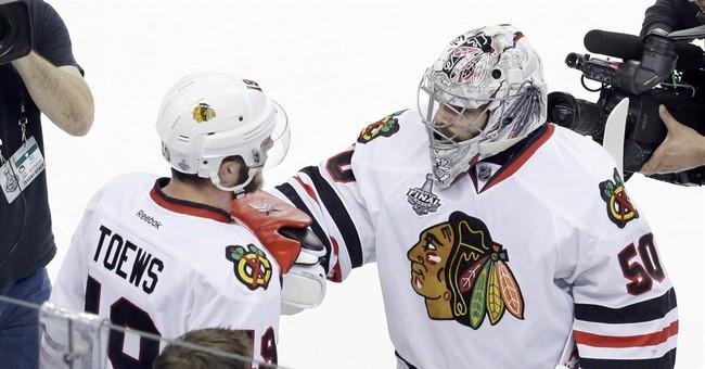 Smallest margins put Blackhawks on brink of Cup in Game 6