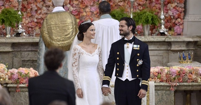 Swedish prince ties the knot to former reality starlet