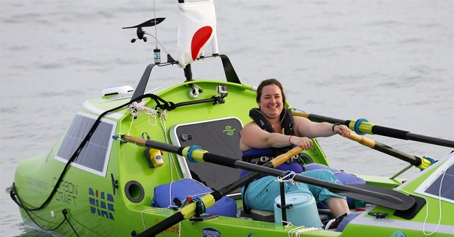 US woman attempting to row across Pacific rescued