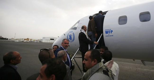 Yemenis and rebels headed to Geneva says Egypt blocks flight