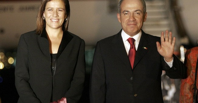 Ex-first lady says she'll seek Mexico's presidency in 2018