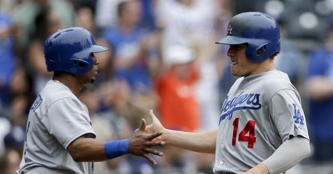 Gonzalez's 3 RBIs help Dodgers edge Padres in 12 innings