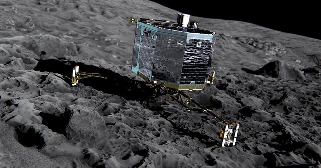 Europe's comet lander makes 2nd contact after waking up