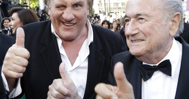Depardieu intervened for widely panned FIFA movie
