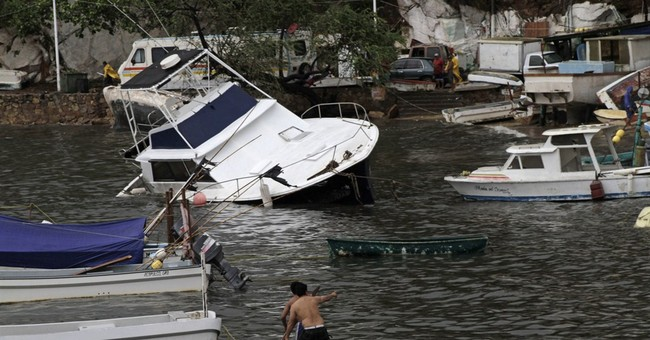 Small boats banned off Puerto Vallarta because of hurricane