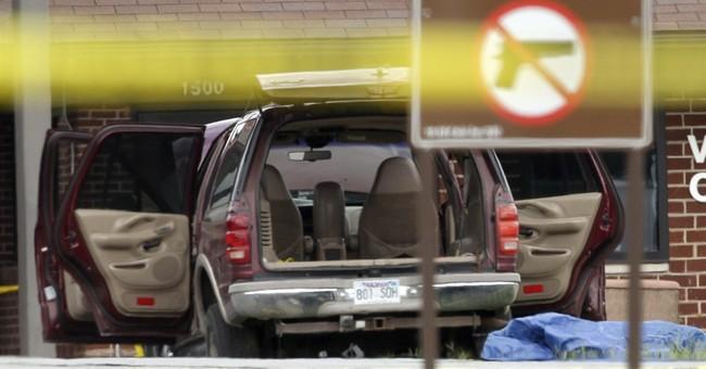 Military: Armed civilian shot near gate at Arkansas air base