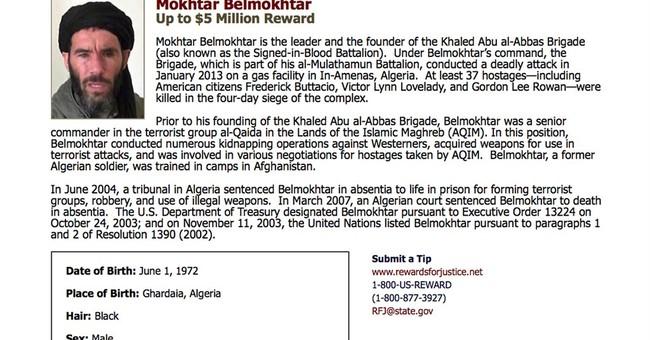 Al-Qaida leader not listed among dead from US Libya strike