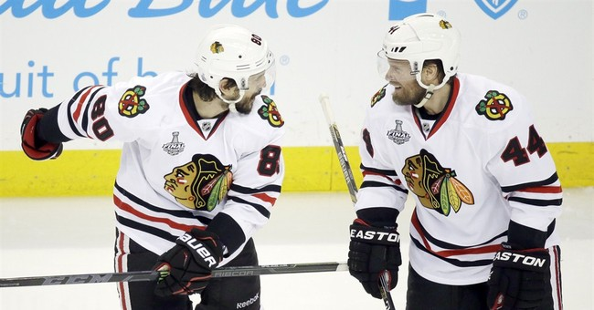Former defensive partners Timonen, Coburn vying for Cup