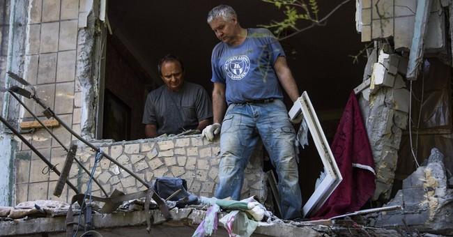 Correction: Ukraine-Artillery Duels story