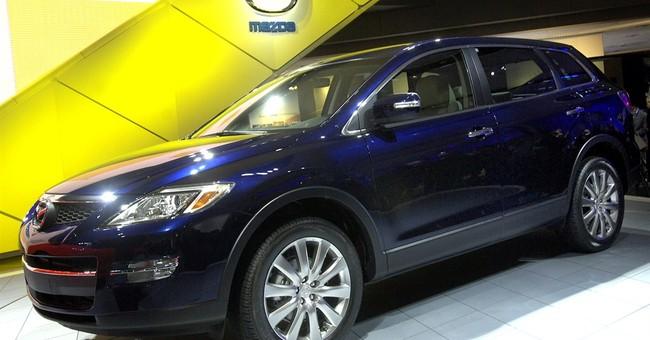 US safety agency probes Mazda SUVs for suspension problem