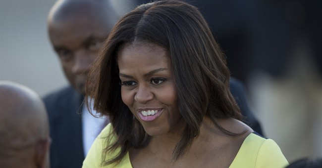 London love fest: Michelle Obama charms, thrills schoolgirls