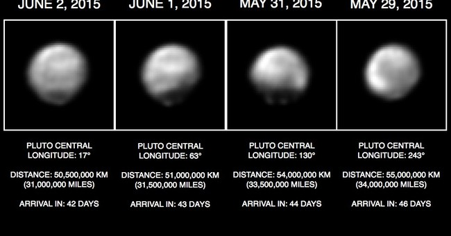 Pluto just 4 weeks, 20 million miles away for spacecraft