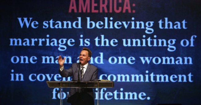 Southern Baptist head vows never to perform same-sex unions