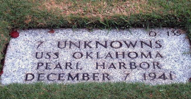Exhumation begins for unidentified remains from USS Oklahoma