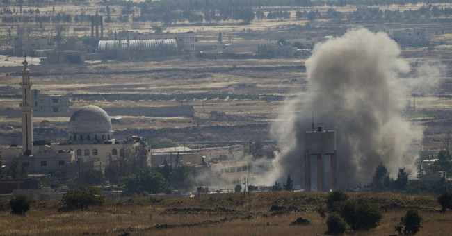 Syrian rebels advance near Golan; Damascus shelling kills 33