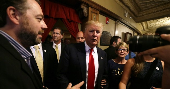 Donald Trump says he has no regrets about '16 kickoff speech