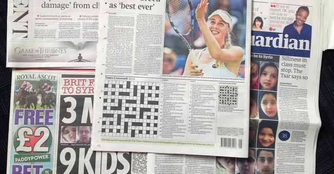 UK man sneaks marriage proposal into newspaper crossword