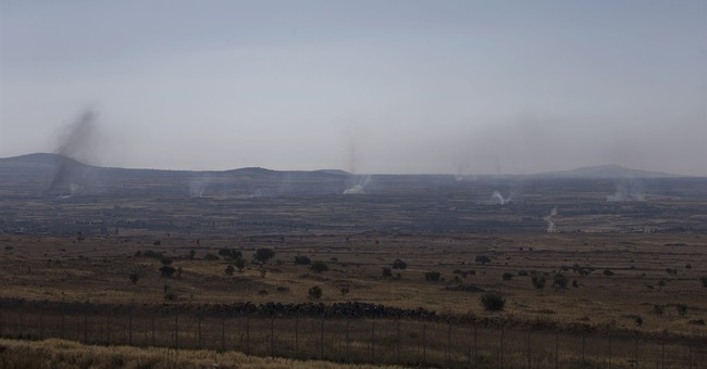 Syrian rebels advance near Golan; Damascus shelling kills 33