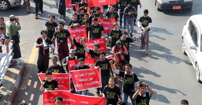 Amnesty accuses Myanmar government of intimidating media