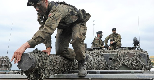 NATO's new spearhead force trains to reassure the east