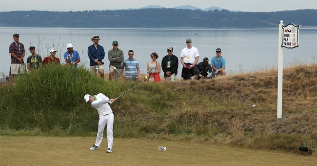 The Latest: Plenty of surprises in opening round of US Open