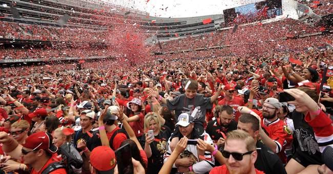 After championship hat trick, Chicago celebrates Blackhawks